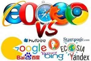 navegadores vs buscadores