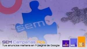 SEM Campañas de Google Ads