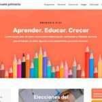 Ejemplo página web de academias y colegios