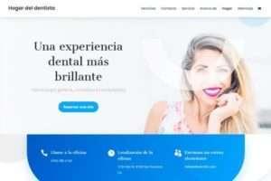 Ejemplo de página web de dentistas o clínicas dentales