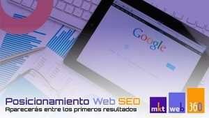Servicios de posicionamiento web seo para buscadores
