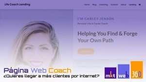 Páginas web para coach