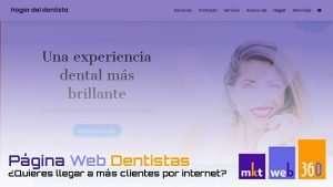 Diseño página web para dentistas