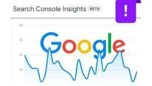 Herramienta de Google Search Console Insights
